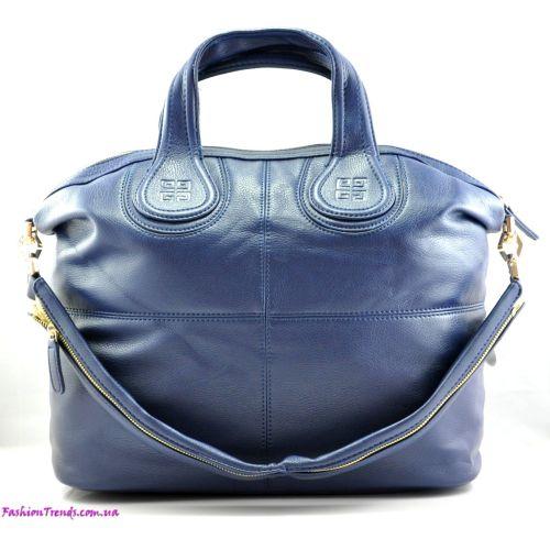 Женская сумка Givenchy Nightingale синяя