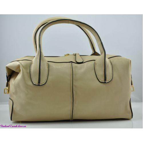 Женская сумка Tod's D-Bag бежевая