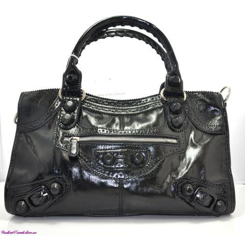 Женская сумка Balenciaga City черная