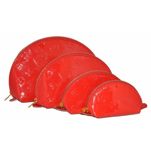 Набор косметичек Louis Vuitton красный лак