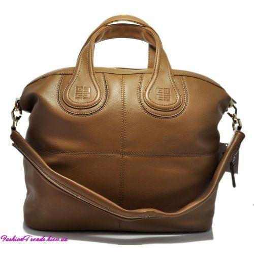Женская сумка Givenchy Nightingale темно-бежевая