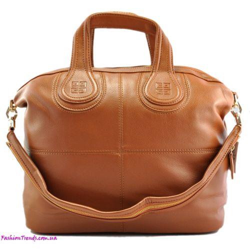 Женская сумка Givenchy Nightingale рыжая