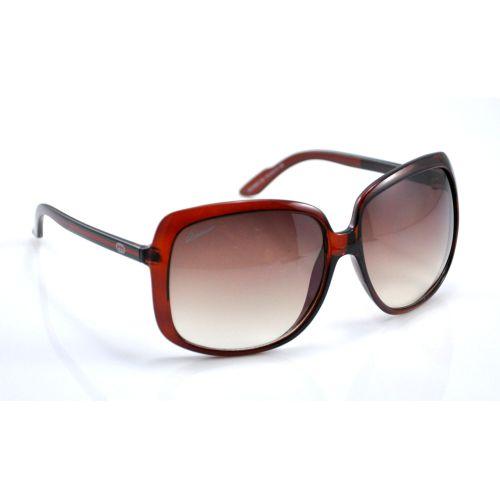 Солнцезащитные очки G большие коричневые