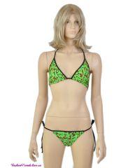 Купальник Louis Vuitton зеленый