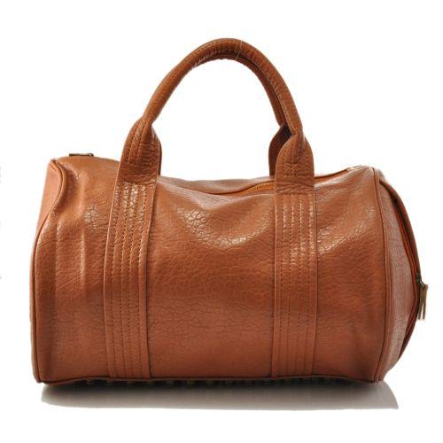 Женская сумка Alexander Wang Rocco Duffel рыжая