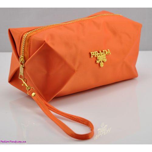 Косметичка P куб оранжевая