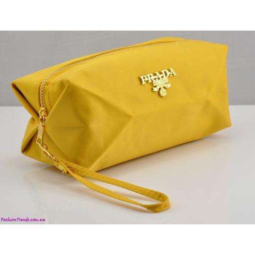 Косметичка P куб желтая
