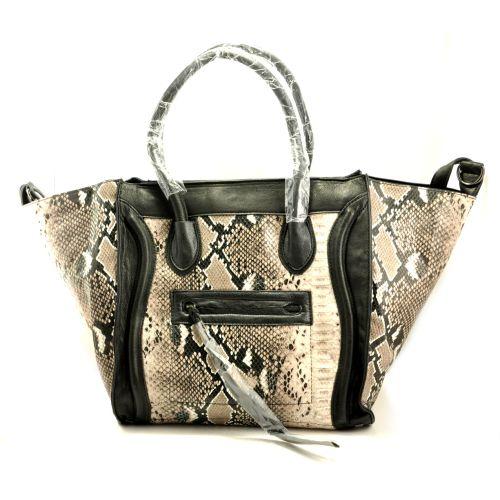 Женская сумка Celine Boston Maxi питон