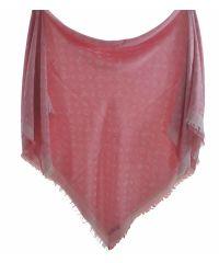 Шаль Louis Vuitton Denim Shawl светло-розовая