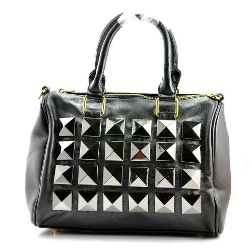 Женская сумка Nieten черная