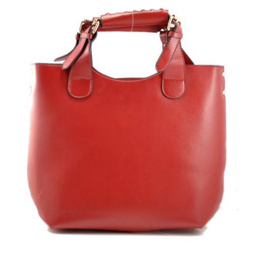 Женская сумка Zara Shopper вишневая