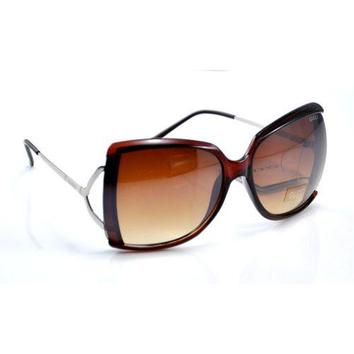 Солнцезащитные очки Gucci Corner коричневые