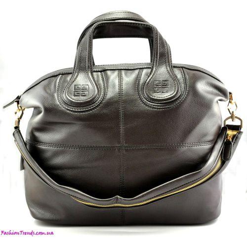 Женская сумка Givenchy Nightingale коричневая