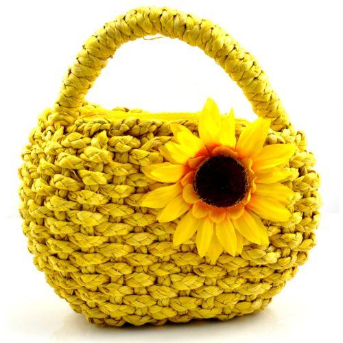 Пляжная плетеная дизайнерская сумочка