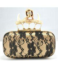 Клатч Knuckle Box Clutch Canino золото