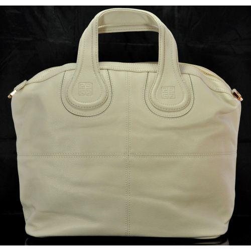 Женская сумка Givenchy Nightingale светло-бежевая