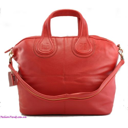 Женская сумка Givenchy Nightingale красная