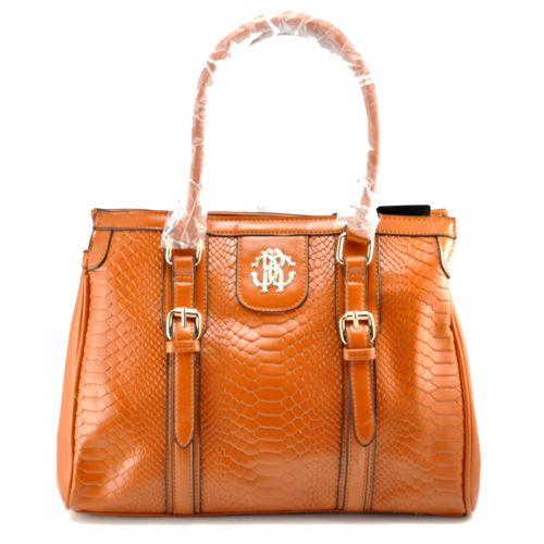 Женская сумка Roberto Cavalli Vertikal рыжая