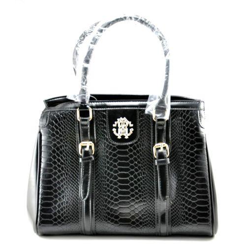 Женская сумка Roberto Cavalli Vertikal черная
