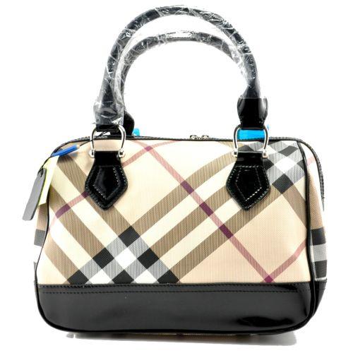 Женская сумка Burberry Kitbag черная