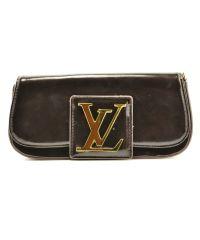Клатч Louis Vuitton Sobe бордовый