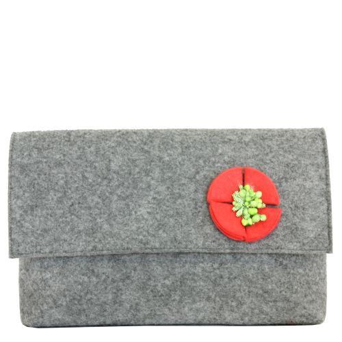 Клатч Valex с красным цветочком
