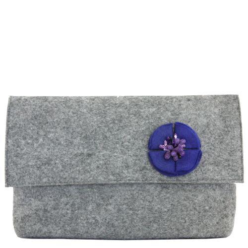 Клатч Valex с синим цветочком