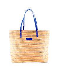 Плетеная пляжная сумка Valex синяя