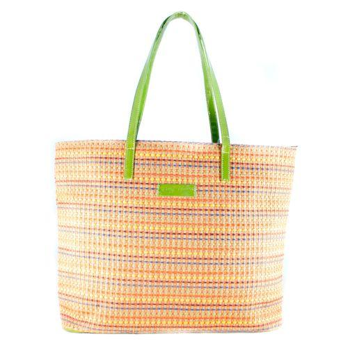 Плетеная пляжная сумка Valex зеленая