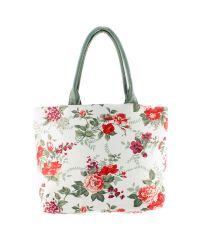 Пляжная сумка Valex цветочки