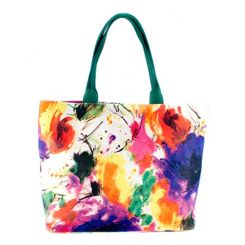 Пляжная сумка Valex Пикассо зеленая