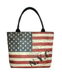 Черная сумка Valex американский флаг