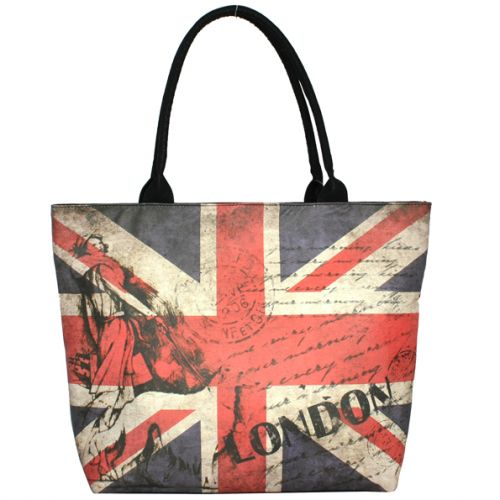 Черная сумка Valex флаг Великобритании