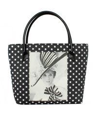 Черная сумка Valex Одри Хепберн 8