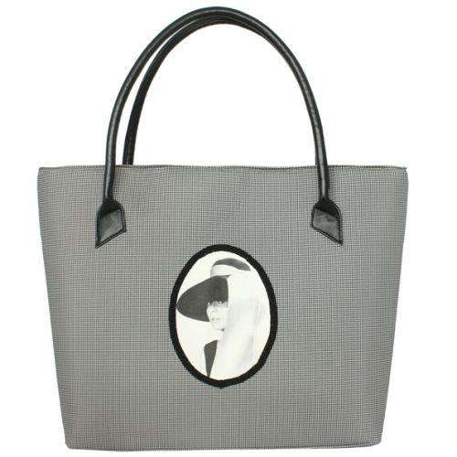 Черная сумка Valex Одри Хепберн 6