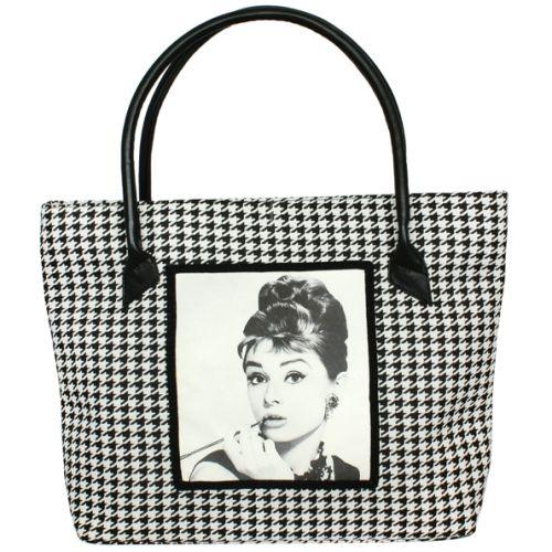 Черная сумка Valex Одри Хепберн 3
