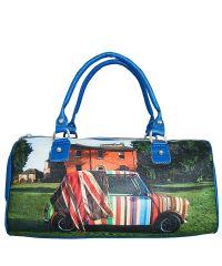 Спортивная сумка Valex синяя Paul Smith