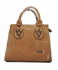 Женская сумка Versace коричневая