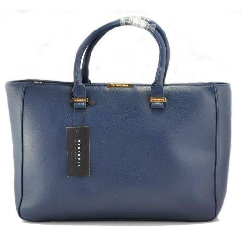 Женская сумка Victoria Beckham Quincy Bag синяя