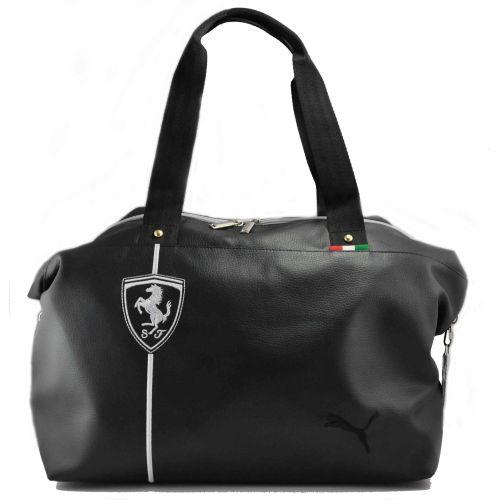 Спортивная сумка Puma Ferrari черная