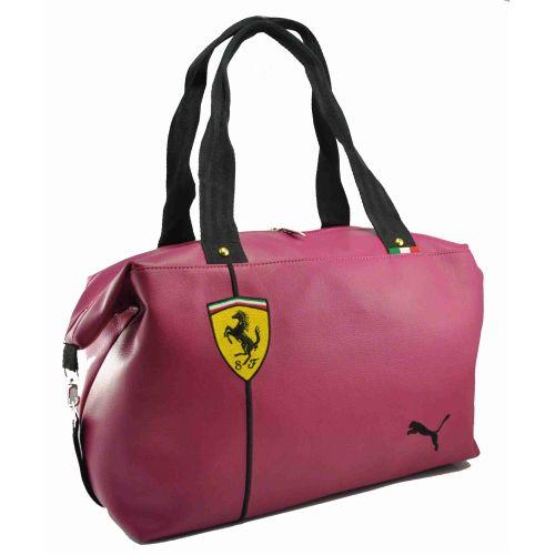 32b8e0fd Спортивная сумка Puma Ferrari малиновая купить в Киеве - FashionTrends