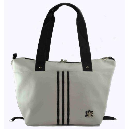 Спортивная сумка Adidas Sportif белая с черным