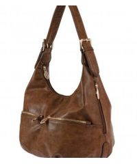 Женская сумка B1 T20035 мешок бежевая