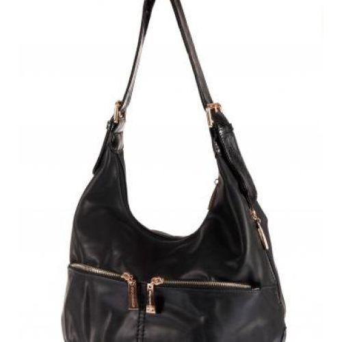 Женская сумка B1 T20035 мешок черная