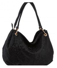 Женская сумка B1 T19978 мешок черная