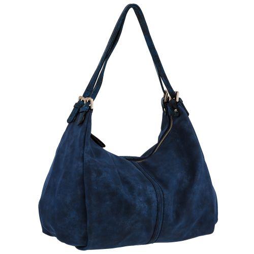 Женская сумка B1 T19961D мешок синяя