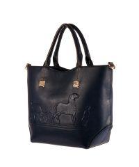 Женская сумка B1 T20133 синяя