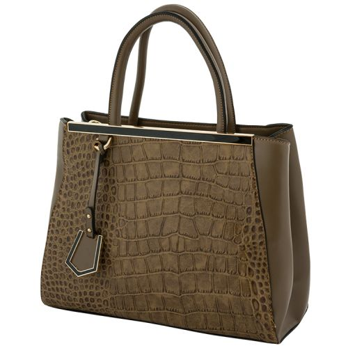 Женская сумка B1 1659-1 темно - бежевая