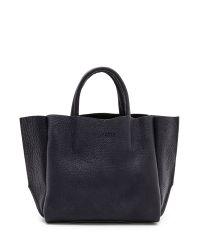 Женская кожаная сумка poolparty-soho-black черная