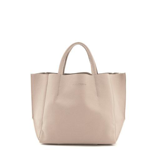 Женская кожаная сумка poolparty-soho-beige бежевая